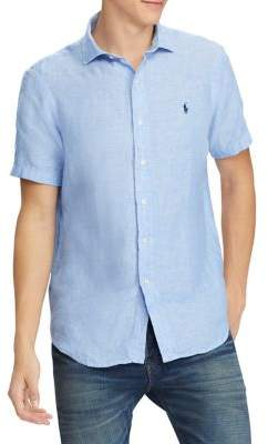 Polo Ralph Lauren Classic-Fit Linen Button-Down Shirt