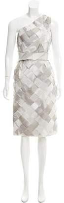 Rodarte Silk One-Shoulder Dress