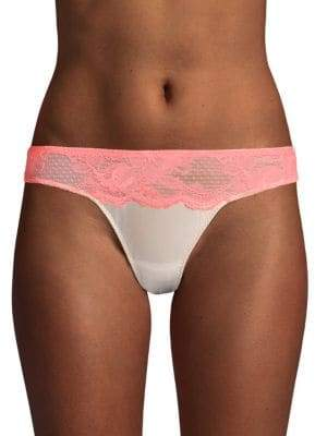 Stella McCartney Lace-Trimmed Thong