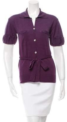 Stella McCartney Fleece Wool Knit Top
