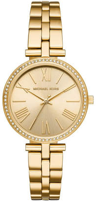 2b9625a7ffe1 Michael Kors Maci Women Gold Stainless Steel Watch MK3903