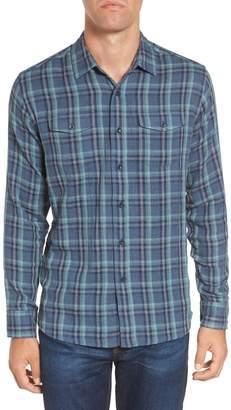 Grayers Smith Double Cloth Plaid Sport Shirt