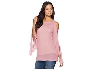 Kensie Textured Viscose Sweater KS8K5635