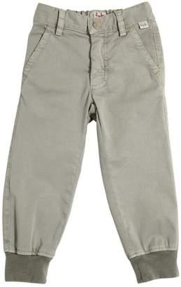 Il Gufo Stretch Cotton Gabardine Pants