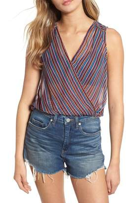 eed1284eac98c Showing 1060 womens banded bottom tops. Free Shipping  100+ at Nordstrom  Rack · Band of Gypsies Stripe Surplice Tank