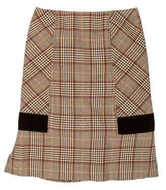 ccad24aa41f3 Pre-Owned at TheRealReal · Valentino Wool Knee-Length Skirt