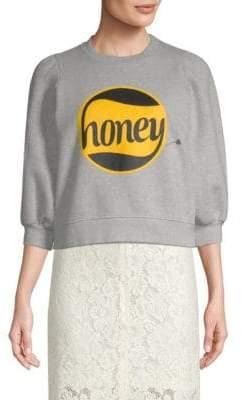 Ganni Lott Isoli Cotton Sweatshirt
