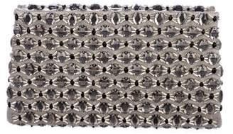 Giorgio Armani Embellished Satin Clutch