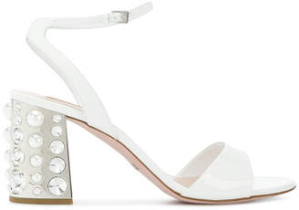 Sebastian embellished block heel sandals