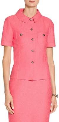 St. John Hannah Knit Short Sleeve Jacket