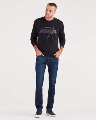 7 For All Mankind Airweft Denim Paxtyn Skinny With Clean Pocket in Commotion