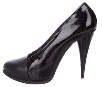 Givenchy Patent Leather Cap-Toe Pumps