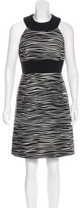 Michael Kors Printed Wool Dress