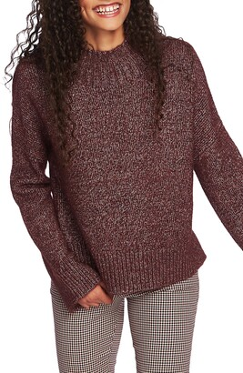 1 STATE 1.STATE Mock Neck Sweater