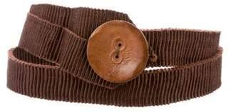 Gunex Pleated Waist Belt