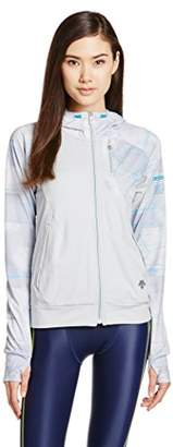 Descente (デサント) - (デサント)DESCENTE MOTION FREE ACTIVE SUITS フーデッドジャケット DAT-2693W [レディース] IWHT O