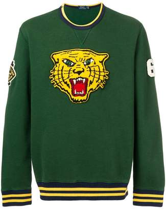 Polo Ralph Lauren wild cat patch sweatshirt