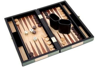 Bey-Berk Bey Berk 12-in. Wooden Backgammon Set