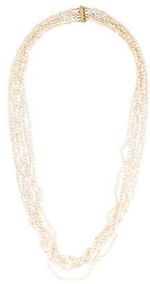 14K Multistrand Pearl Necklace