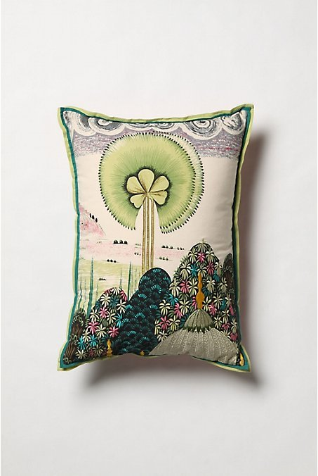 Mythic Fanflower Pillow