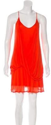 Helmut Lang Mini Sleeveless Dress