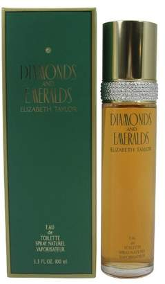 Elizabeth Taylor Diamonds and Emeralds by for Women - 3.3 Ounce EDT Spray