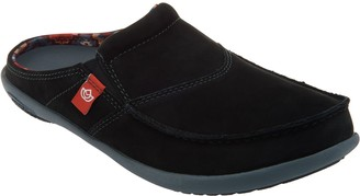 Spenco Orthotic Suede Slides -First Nation