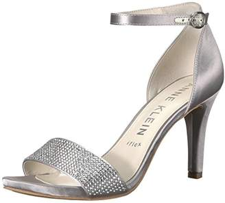Anne Klein Women's Odree Ankle Strap Evening Sandal Heeled