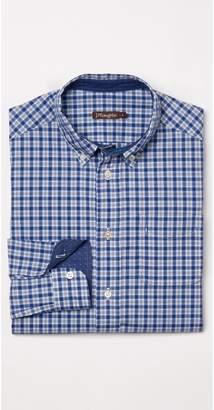J.Mclaughlin Boys' Carnegie Shirt in Mini Plaid