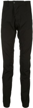 Masnada slim-fit gathered trousers