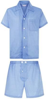 Derek Rose Amalfi Shorts Pyjama Set