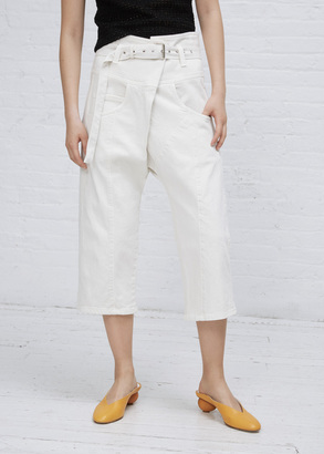 Rachel Comey dirty white tolleson pant $379 thestylecure.com