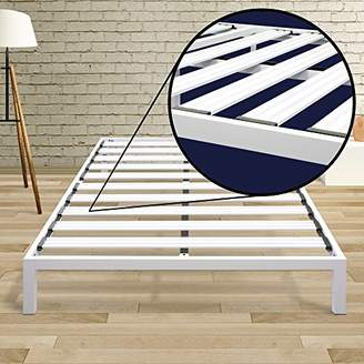 Best Price Mattress Full Bed Frame - 14 Inch Metal Platform Beds [Model C] w/ Steel Slat Support (No Box Spring Needed)