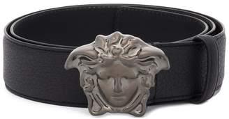 Versace Medusa metal buckle belt