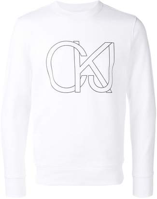 CK Calvin Klein new logo sweater