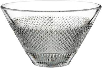 Waterford Diamond Line Lead Crystal Bowl