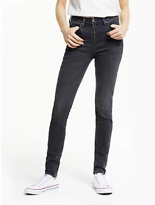 9d990357 Lee Scarlett High Rise Zip Skinny Jeans, Pitch