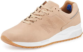 New Balance Men's Leather Low-Top Sneakers, Tan