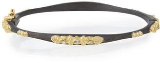 Armenta Midnight Sapphire & Diamond Huggie Bracelet