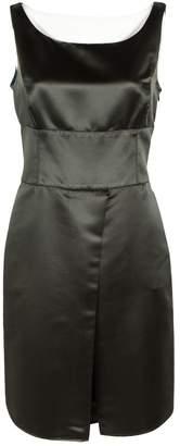 Armani Collezioni Green Polyester Dresses