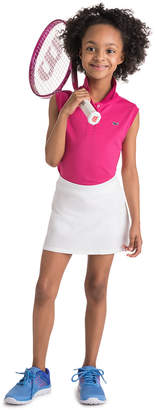 Vineyard Vines Girls Solid Pleated Skort
