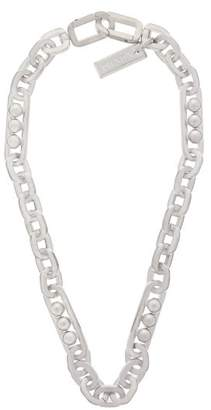 Prada Chunky Chain Link Necklace - Womens - Silver
