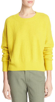 Vince Plush Easy Crewneck Sweater $320 thestylecure.com