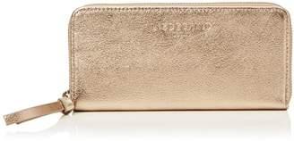 Liebeskind Berlin Women's Gigif8 Metallic Leather Zip Around Wallet