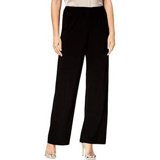 Alex Evenings Women's Straight Leg Dress Pants (Petite Regular)