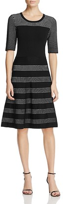 Calvin Klein Fit-and-Flare Sweater Dress $129.50 thestylecure.com