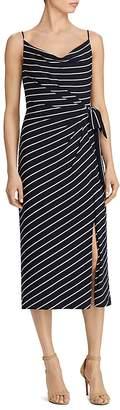 Lauren Ralph Lauren Striped Tie-Waist Dress $150 thestylecure.com