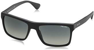 Prada Men's 01SS 0Pr01Ss Sl32D0 Sunglasses