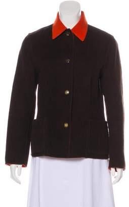 Salvatore Ferragamo Reversible Wool Jacket