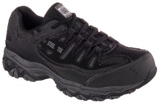 Skechers Men's Relaxed Fit Cankton Steel Toe Safety Shoe